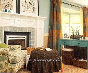 استفاده از رنگهای گرم برای منزل