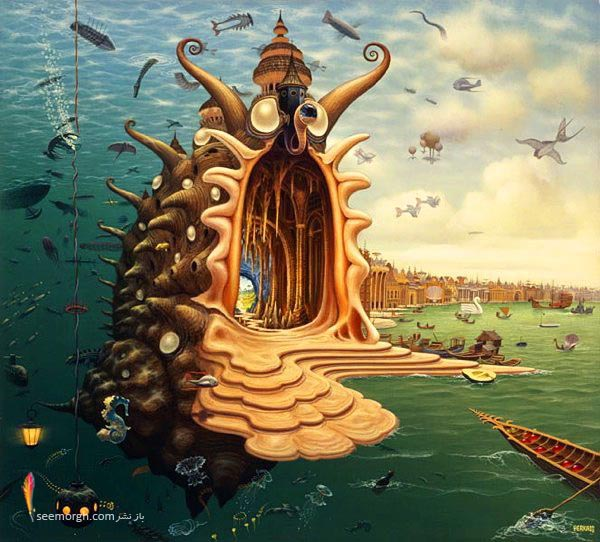 گزارش تصویری: تصویرسازیهای خیالی و خارقالعاده!! TAFRIHI.com