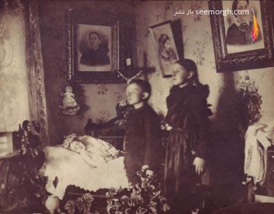 عکس های پس از مرگ