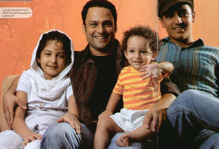 عکس: حسین یاری و خانوده اش! www.TAFRIHI.com