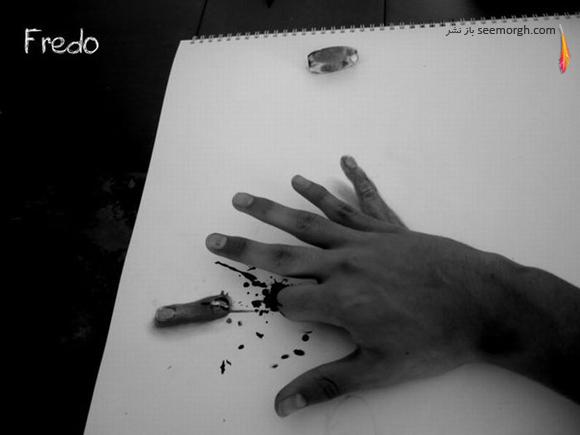نقاشیهای سهبعدی حیرتانگیز اثر پسر 17 ساله! www.TAFRIHI.com