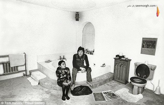 جان لنون و همسرش