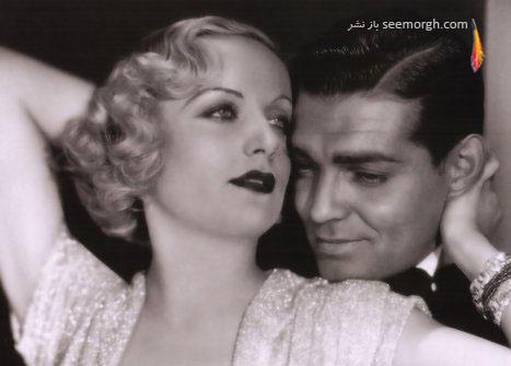 کلارک گابل و کارول لومبارد همسر سومش