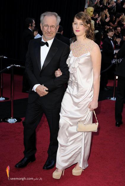 استیون اسپیلبرگ و دخترش