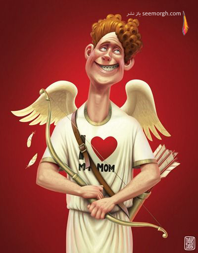 کاریکاتورهای یک گرافیست حرفهای!! www.TAFRIHI.com