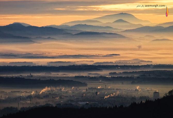 عکسهای رویایی از مه!! www.TAFRIHI.com