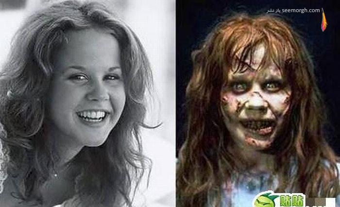 گزارش تصویری: گریم در فیلمهای ترسناک! www.TAFRIHI.com