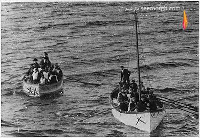 نجات مسافران کشتی تایتانیک