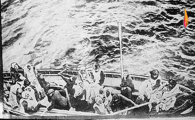 غرق شدن کشتی تایتانیک