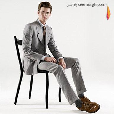 مدل های کت و شلوار جدید مردانه