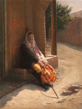 آثار و گالری نقاشی استاد فخرالدین مخبری www.TAFRIHI.com