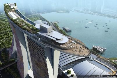سنگاپور، پارک آبی آسمان+تصاویر