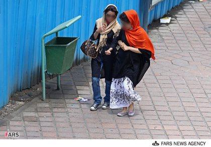 عکس عکسهای آرایش زننده برخی از دختران و زنان در تهران