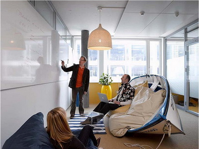 دفاتر زیبای گوگل در سراسر دنیا ! www.TAFRIHI.com