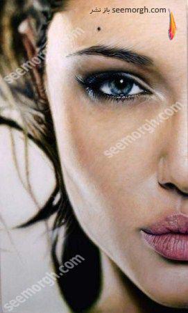 عکسی فوق العاده از آنجلینا جولی!