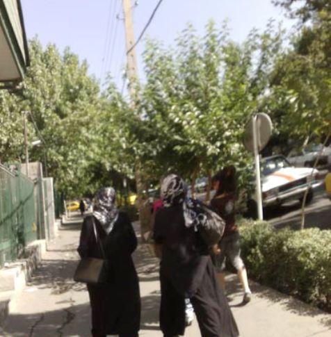 8997 938 اوج بی حجابی در تهران + عکس
