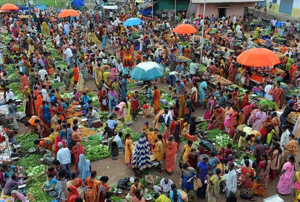 بازار سنتی هند