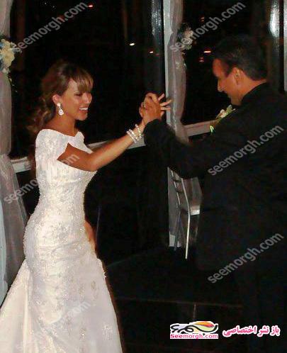 عکس های ازدواج شادمهر عقیلی با ملیسا میسا