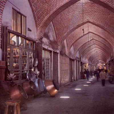 بازار سنتی تبریز