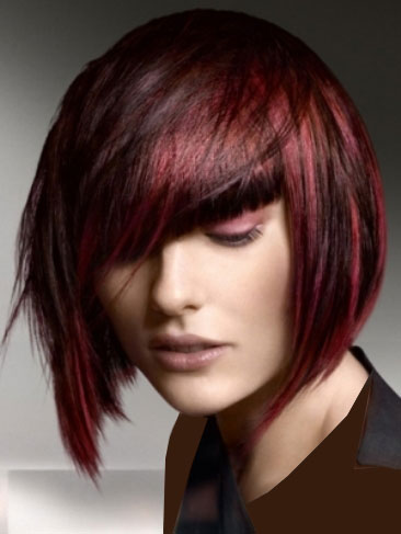 goldwell hair thumb مدل موهای کوتاه زنانه ۲۰۱۱ همراه با رنگ مو