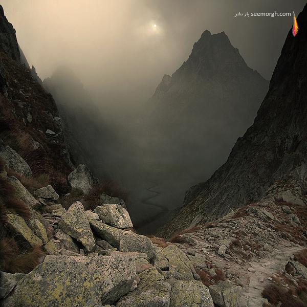 عکس هایی از دنیای زیبا و شگفتانگیز یک هنرمند! www.TAFRIHI.com سایت تفریحی