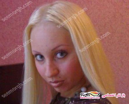 تصاویری از تغییر چهره یک زن به چهره ای عجیب برای بدست آوردن شغل!