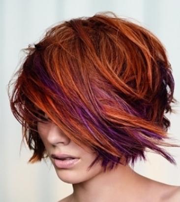 yutghf مدل موهای کوتاه زنانه ۲۰۱۱ همراه با رنگ مو