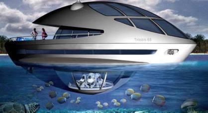 قطریها هتل زیر دریایی میسازند + عکس www.TAFRIHI.com