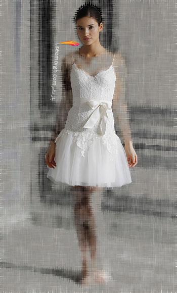مدل لباس عروس شماره 8 از طراح معروف Monique Lhuillier