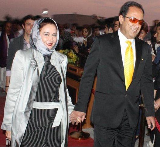 کلید  در تهران عکس: کتایون ریاحی و همسرش!