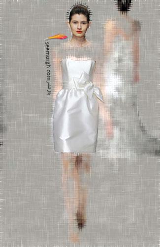 مدل لباس عروس شماره 6 از طراح معروف Amsale