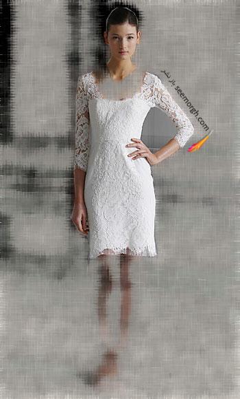مدل لباس عروس شماره 7 از طراح معروف Monique Lhuillier