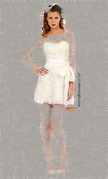 مدل لباس عروس شماره 4 از طراح معروف Melissa Sweet