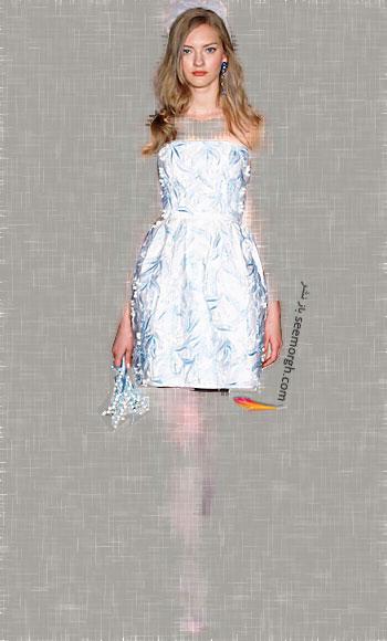 مدل لباس عروس شماره 11 از طراح معروف Oscar de la Renta