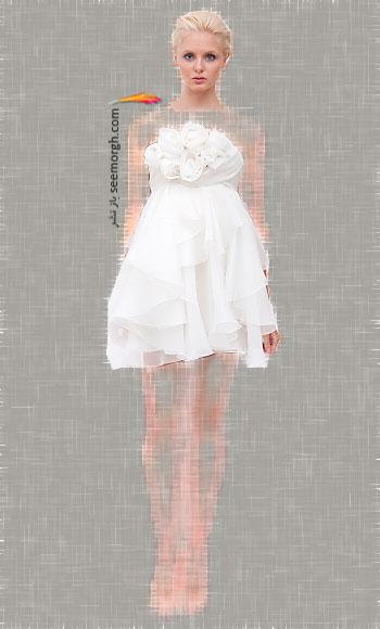 مدل لباس عروس شماره 9 از طراح معروف Marchesa