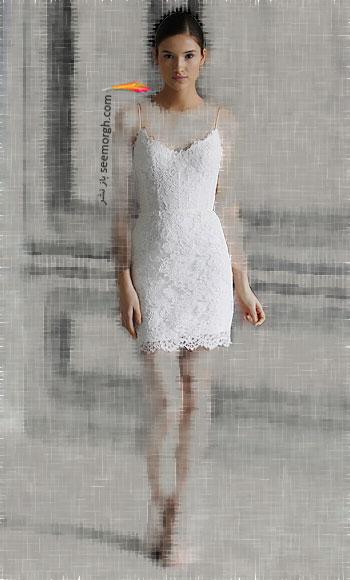 مدل لباس عروس شماره 12 از طراح معروف Monique Lhuillier