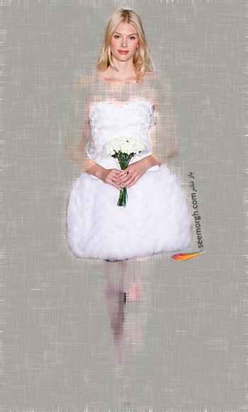 مدل لباس عروس شماره 13 از طراح معروف Monique Lhuillier