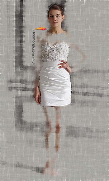 مدل لباس عروس شماره 14 از طراح معروف Monique Lhuillier