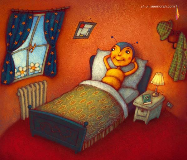 نقاشیهای یک تصویرگر فوقالعاده برای کتابها! www.TAFRIHI.com