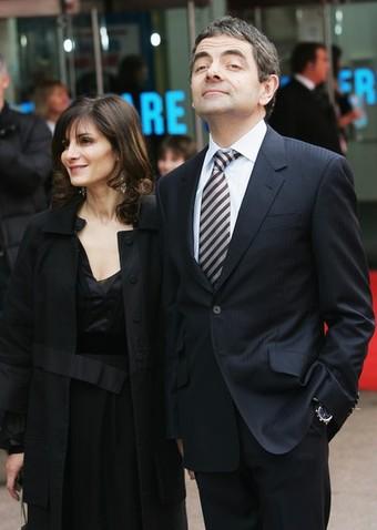 مستر بین و همسرش