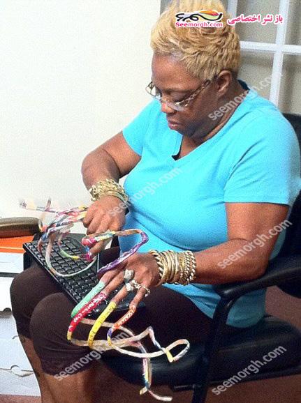 زنی که کلی هزینه می کند تا جذاب باشد اما بیشتر مردم از او بدشان می آید!! + عکس www.TAFRIHI.com