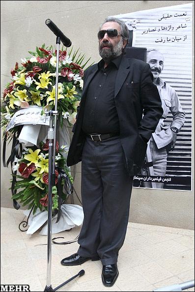 مراسم تشییع زنده یاد نعمت حقیقی با حضور بازیگران (تصویری)