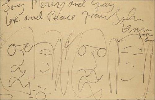 کاریکاتور جان لنون