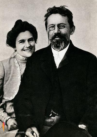 چخوف و همسرش اولگا