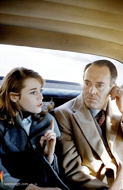 Jane Fonda with her father Henry 1950 عکسهای کمیاب از بازیگران هالیوود که تابحال ندیدهاید!