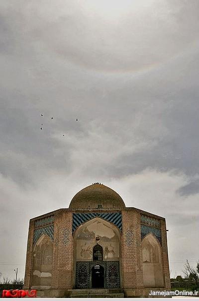 گزارش تصویری: بقعه شیخ جبراییل پدر شیخ صف الدین www.TAFRIHI.com