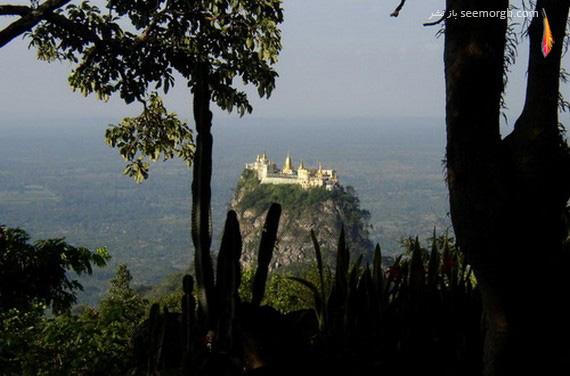 معبد کوه پوپا