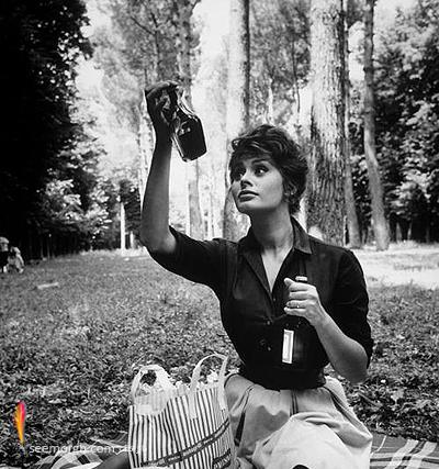 Sophia Loren 1961 عکسهای کمیاب از بازیگران هالیوود که تابحال ندیدهاید!