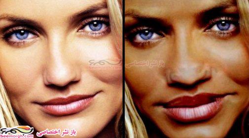 اگر آنجلینا جولی، نیکول کیدمن، جنیفرلوپز و... افریقایی و سیاه پوست بودند چه شکلی میشدند؟!! www.TAFRIHI.com
