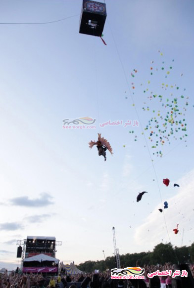 اتفاق عجیبی که برای پینک، خواننده مشهور آمریکایی رخ داد!! (+عکس حادثه)